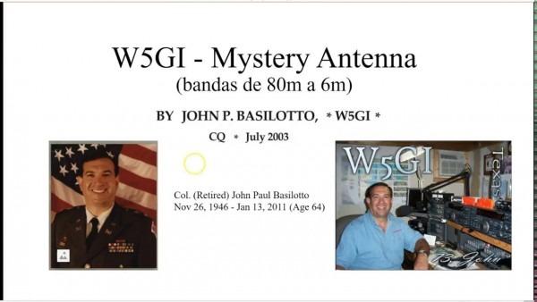 0141 Antena W5gi Mystery Antenna, Por Xq2cg
