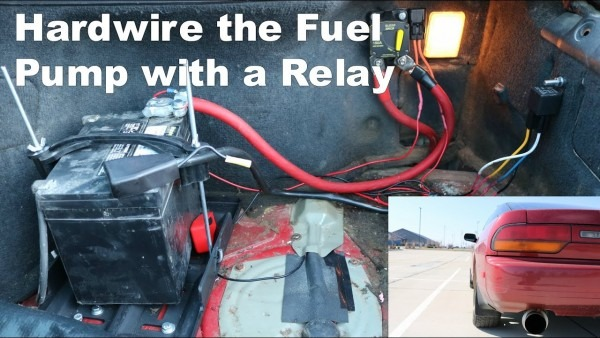 Fuel Pump Relay Install On An S13  Save Your Motor!