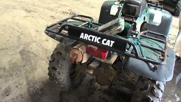 2001 Arctic Cat 400 Fixer Up