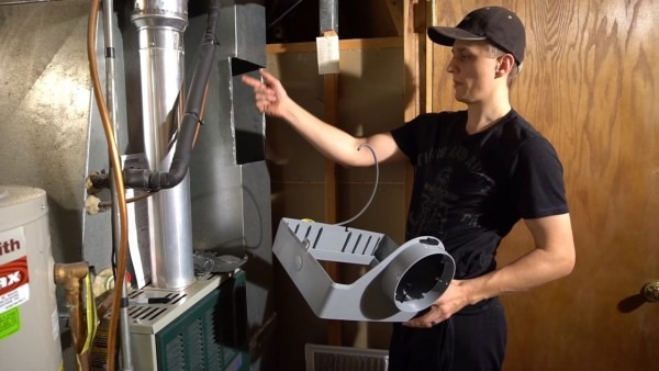 Aprilaire 600m Humidifier Installation Walkthrough
