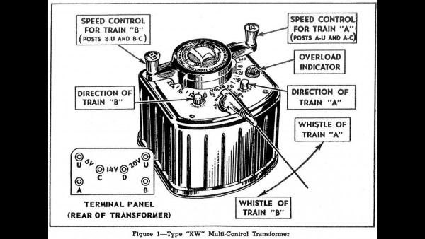 Lionel Kw Transformer Manual ~ How To Operate A Lionel Kw