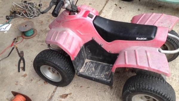 Razor Dirt Quad 36 Volt Upgrade Part 4