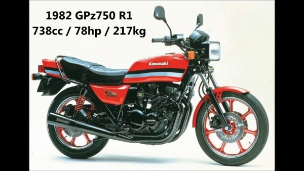 1982 Kawasaki Gpz750 R1 (a K A  Z750gp)