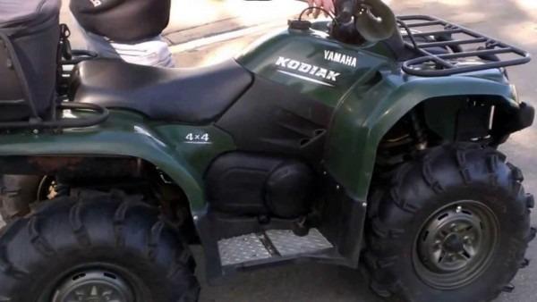 2006 Used Yamaha Kodiak 400 4x4 For Sale