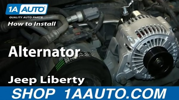 How To Replace Alternator 04