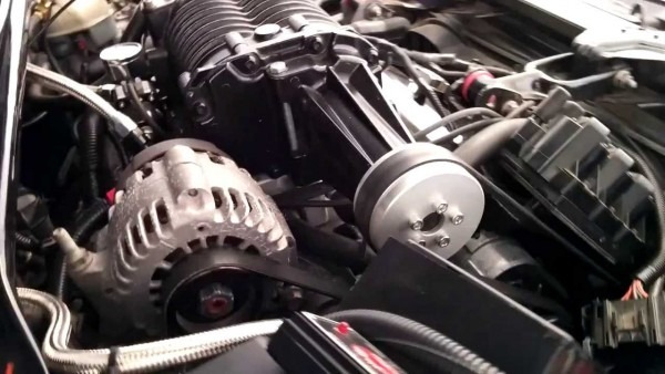 Engine Bay On Supercharged Monte Carlo 3800 Series Ii