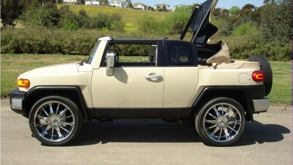 Toyota Fj Convertible By Nce
