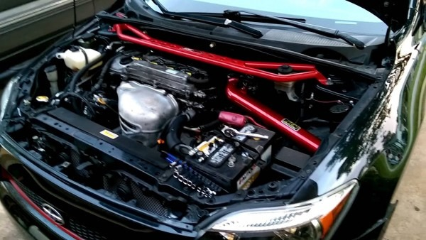 Aem Cold Air Intake On A 2006 Scion Tc