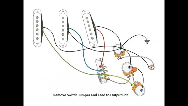 Fender Stratocaster Wiring
