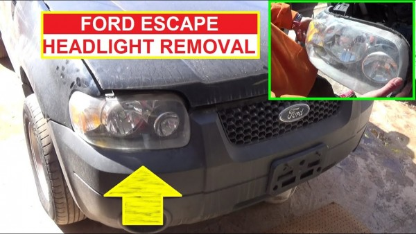 How To Remove And Replace The Headlight On Ford Escape 2001 2002  U2013 Car Wiring Diagram