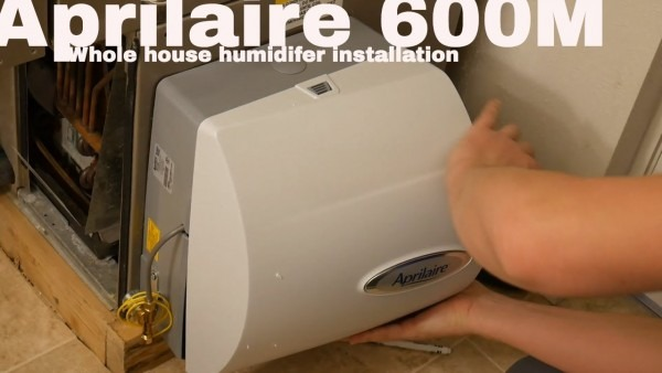 Aprilaire 600 Humidifier Installation (get Rid Of Dry Air In Your