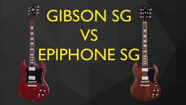 Vs Gibson Sg Standard  High Output Riffbucker In An Sg Low Output
