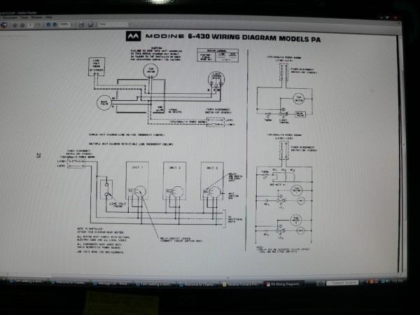 Modine Wiring Diagram