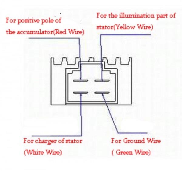 Scooter Voltage Regulator Diagram