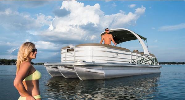 Pontoon Boats By Bennington, Pontoon Houseboat Boat