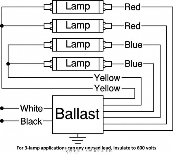 4 Bulb T5 Light Wiring Diagram