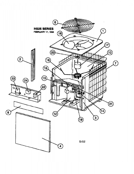 Wiring Diagram A C Condenser Parts  U2013 Car Wiring Diagram