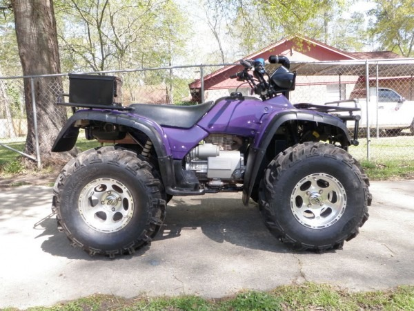2000 Honda Foreman 450 S 4x4   Purple