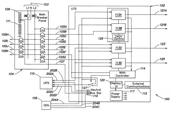 Standard Ups Circuit Diagram