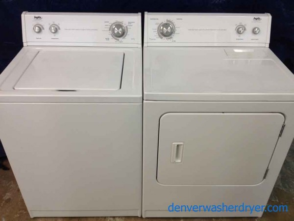 Large Images For Inglis Washer Dryer Set, By Whirlpool, Super