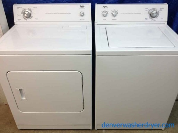 Large Images For Inglis By Whirlpool Washer Dryer