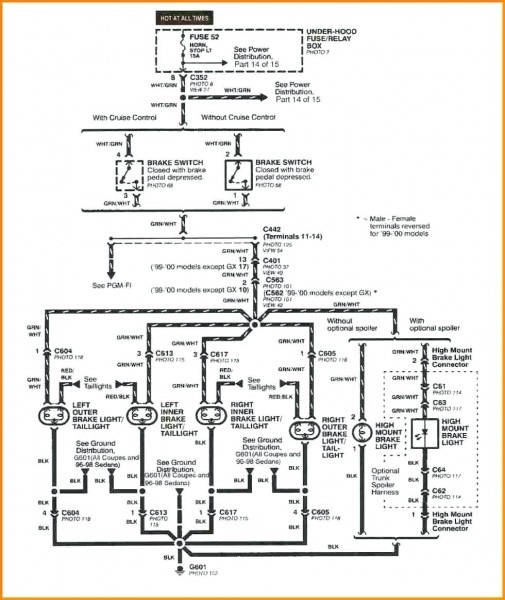 Car Stereo Color Wiring Diagram