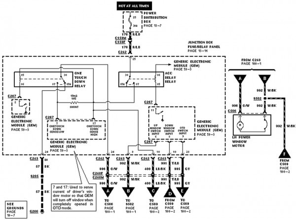 1998 Ford Expedition Wiring Diagram