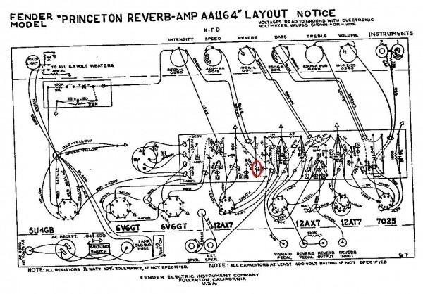 Bf Sf Princeton Reverb
