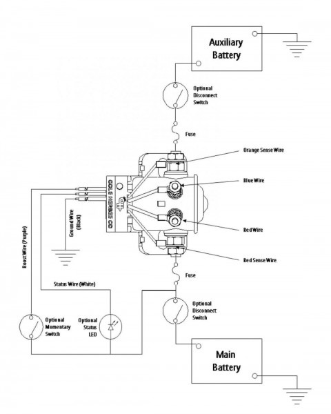 Battery Disconnect Wiring Diagram