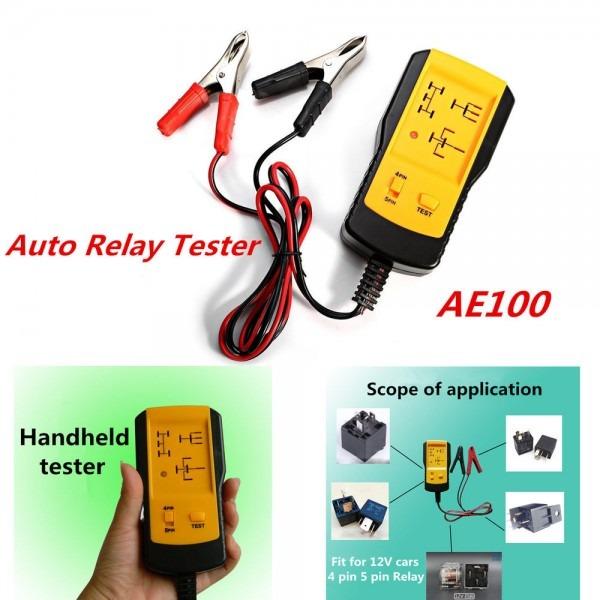 Dc12v Electronic Automotive Relay Tester Car Automotive Battery