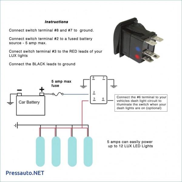 4 Pin Led Switch Wiring