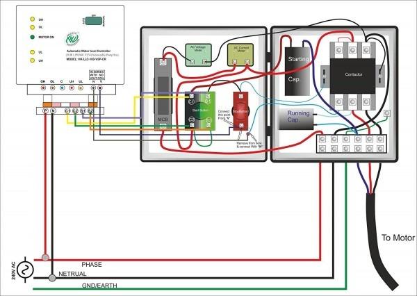 Water Pump Wiring Diagram