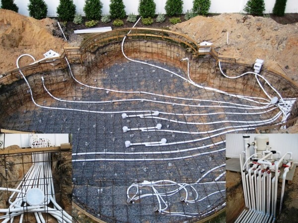 Swimming Pool Plumbing Design — Three Beach Boys Landscape   Basic