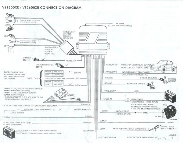 ultra remote car starter wiring diagram