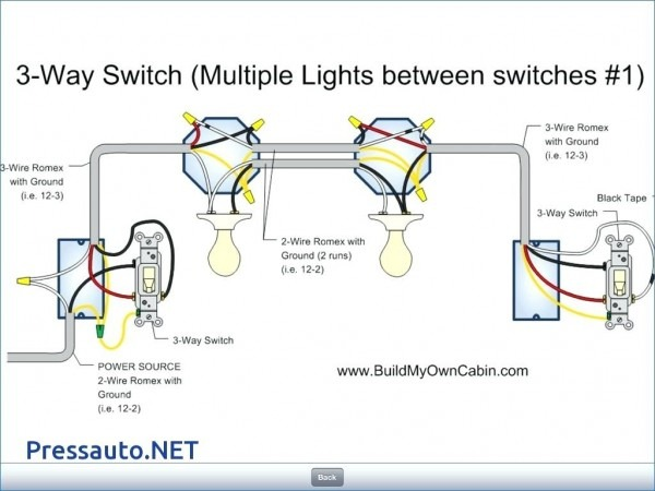 Multiple Lights Wiring Diagram One Switch