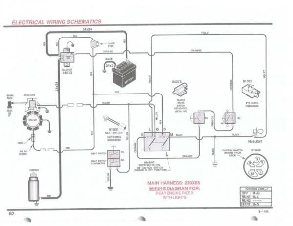Briggs Amp Stratton Wiring Diagram