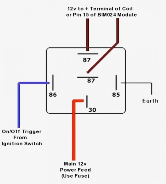 Relay    Diagram    For Spotlights