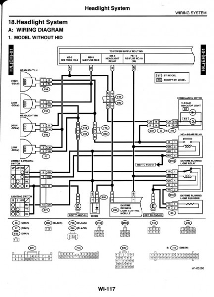 Subaru Impreza Engine Diagram