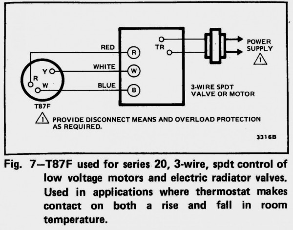 3 Wire Thermostat Wiring Diagram from www.tankbig.com