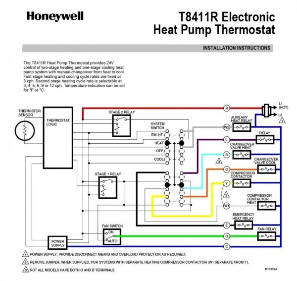 Trend Of Carrier Heat Pump Thermostat Wiring Diagram For Blogs