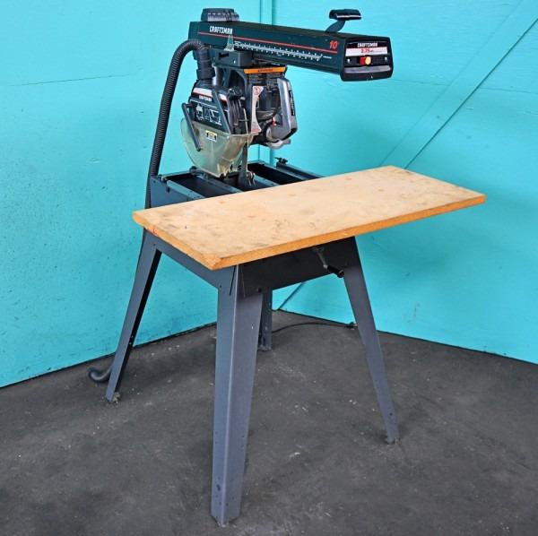 Craftsman 10  Radial Arm Saw