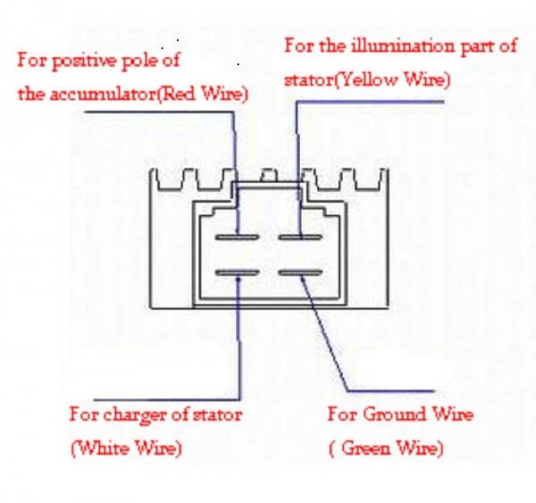 4 Pin Regulator Wiring Diagram