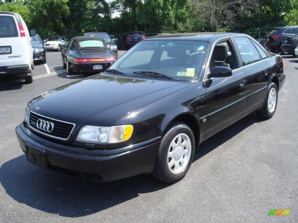 1995 Brilliant Black Audi A6 2 8 Quattro Sedan  13066612