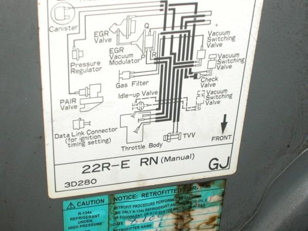 22re Vacuum Hoses Help!