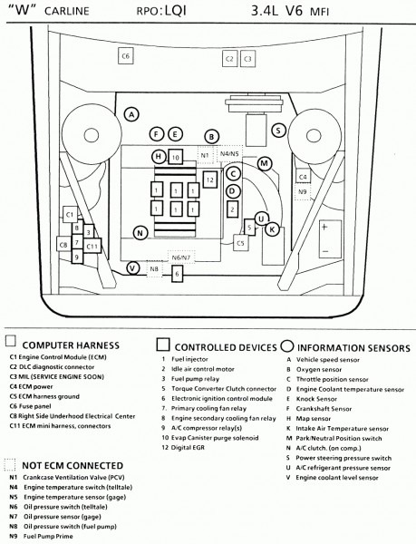 93 Chevy Lumina Engine Diagram