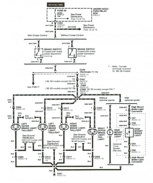 99 Civic Engine Diagram