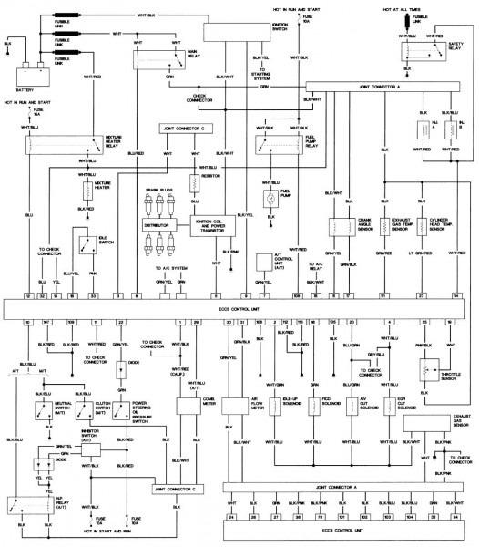 2001 Nissan Frontier Alternator Diagram Wiring Schematic