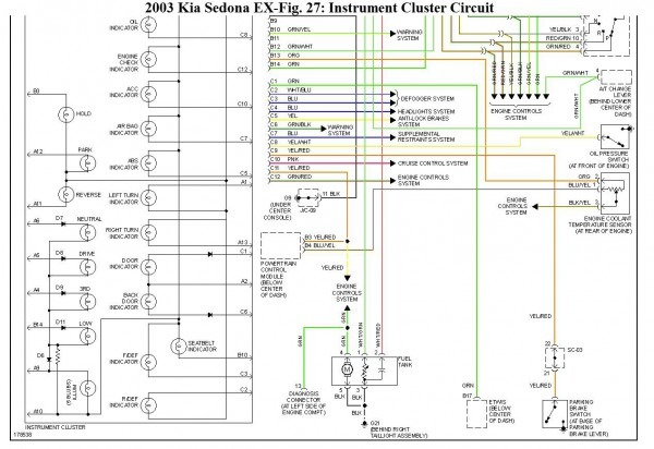 2000 Kium Sephium Fuse Box Diagram - Wiring Diagrams