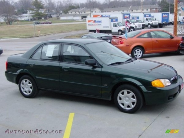 1999 Mazda Protege Lx In Emerald Mica