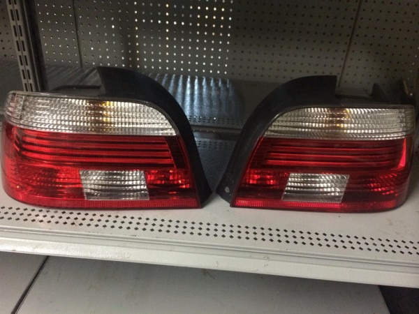 Bmw E39 5 Series Clear Altezza Red Clear Tail Lights Set  R1895